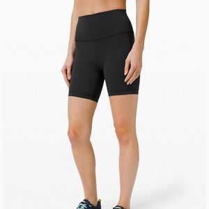"NEW Lululemon Wunder Train HR Short 6"" size 6"